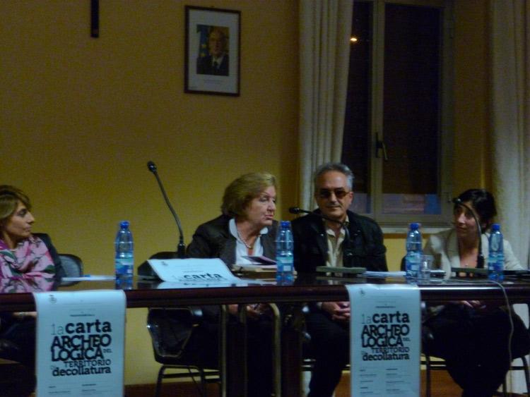 Prof.ssa Giovanna De Sensi e Giuseppe Musolino