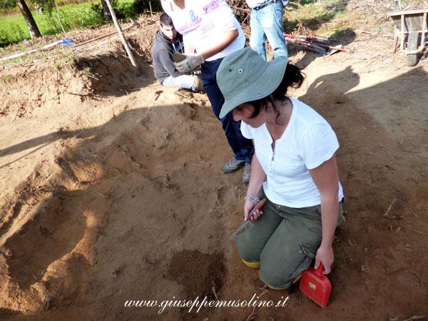 L'archeologa Ginevra Gaglianese