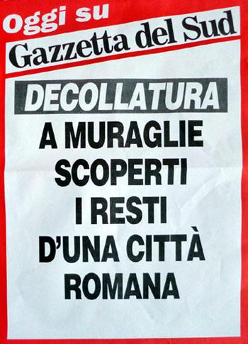 """""""Civetta"""" della Gazzetta del Sud 2 novembre 2013"""