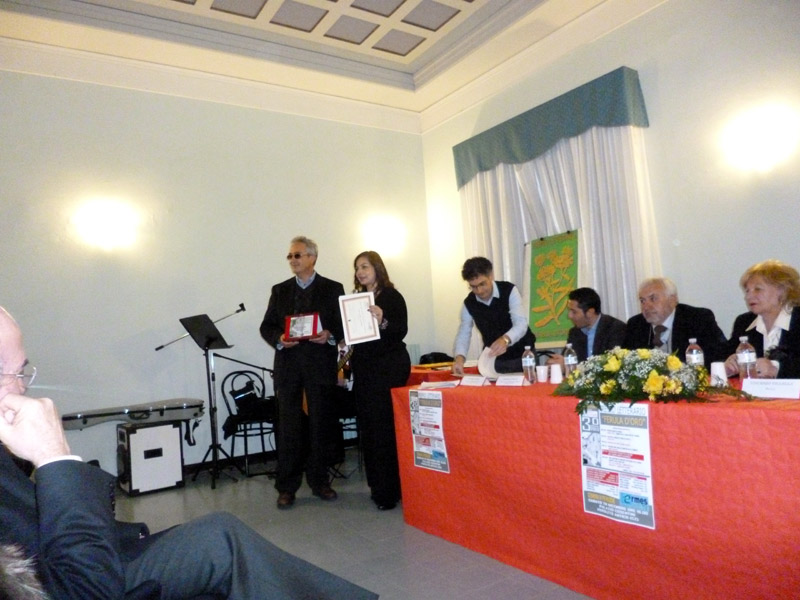 Premiazione di Giuseppe Musolino