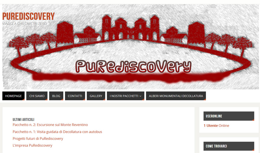 Visita il sito PuRediscovery