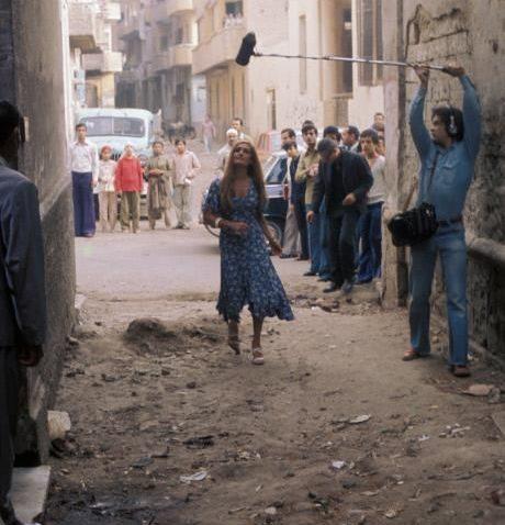 Dalida a Choubra nel 1976