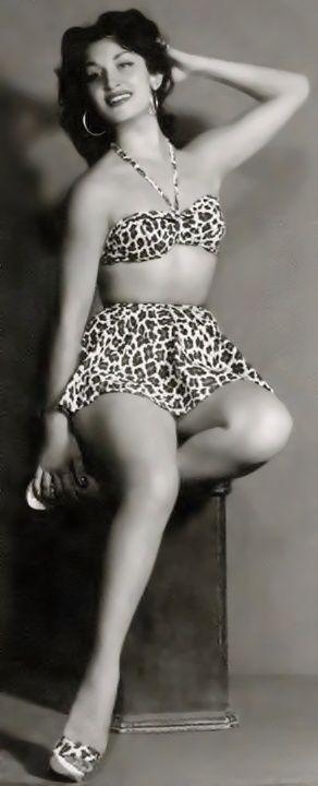 """Dalida """"Miss Egitto"""" 1954"""