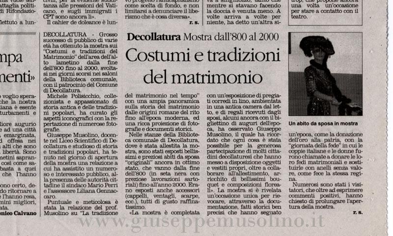 articolo il quotidiano 3 gennaio 2008