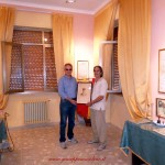 Consegna ritratto Accattatis (G. Musolino e P. Taverna)