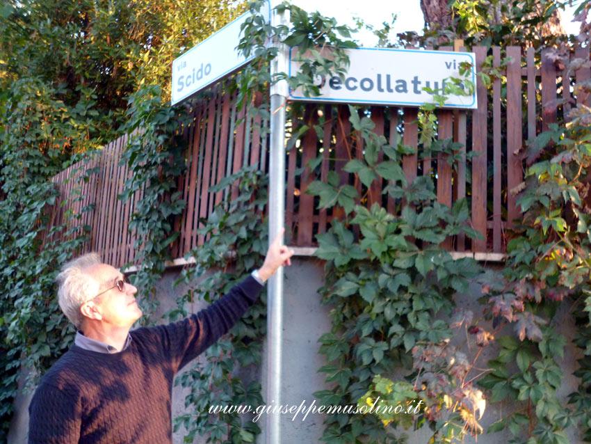 Giuseppe Musolino in Via Decollatura