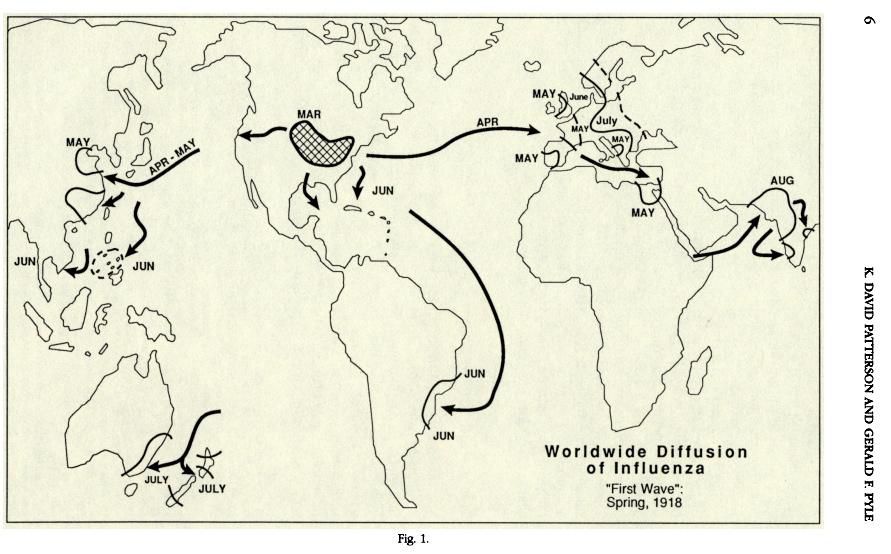 prima ondata 1918
